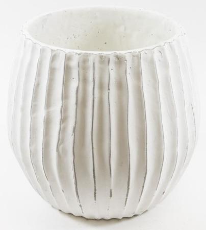 [Doniczki ceramiczne]Donica Ryflowana Taras H:24cm