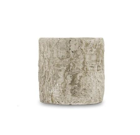 [Doniczki ceramiczne]Donica Wzór Kory Brzozy H:10