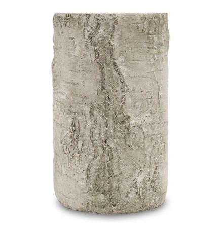 [Doniczki ceramiczne]Donica Wzór Kory Brzozy H:24