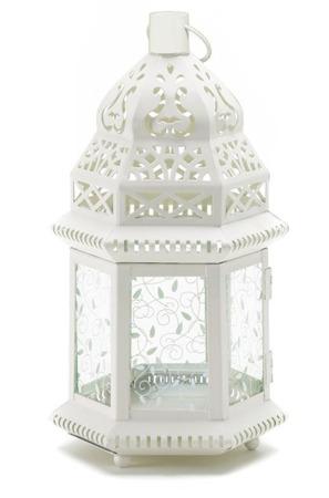 Lampion metalowy  45 x 21 x 19 cm