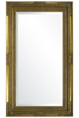 Lustro złota rama 84x144