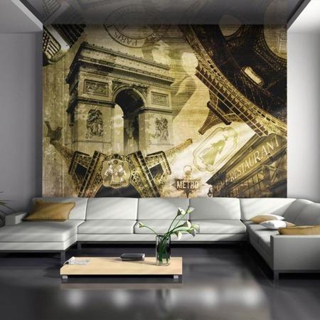 Fototapeta - Paryski kolaż