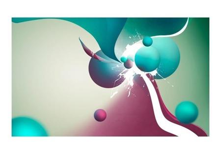 Fototapeta - Kolorowa eksplozja