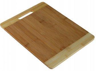 Deska do krojenia bambusowa 25,5x20x1 cm