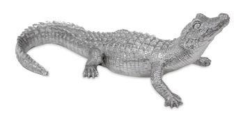 Figurka Bond Krokodyl Ozdoba 12x34cm