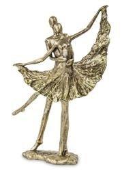 Figurka Para tancerze złoto Balet 41x31cm