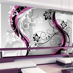 Fototapeta XXL - Kwietne esy-floresy (różowy)