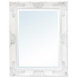 Lustro stylowe klasyczne biała rama  88x68x5 cm