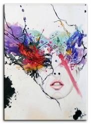 Obraz - Abstrakcje - olejny, ręcznie malowany 150x110cm