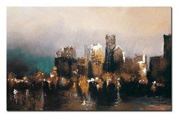 """Obraz """"Abstrakcje"""" - olejny, ręcznie malowany 73x116cm"""