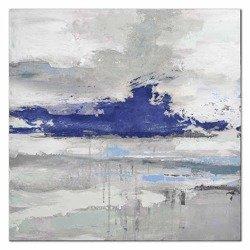 """Obraz """"Abstrakcje"""" - olejny, ręcznie malowany 90x90cm"""