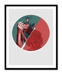 "Obraz ""Abstrakcje"" reprodukcja 43x53cm"