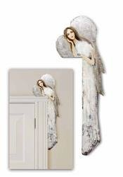 """Obraz """"Anioły"""" ręcznie malowany 70x22 cm"""