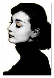 """Obraz """"Audrey Hepburn"""" reprodukcja 60x90cm"""