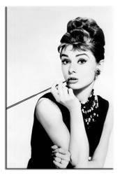 """Obraz """"Audrey Hepburn"""" reprodukcja 90x60 cm"""