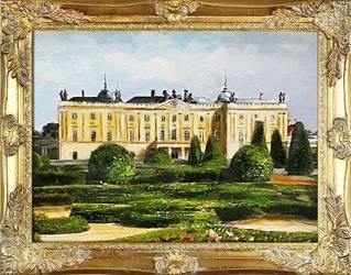 """Obraz """"Bialystok"""" ręcznie malowany 37x47cm"""