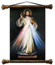 """Obraz """"Chrystus"""" ręcznie malowany 54x82cm"""