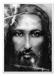 """Obraz """"Chrystus"""" ręcznie malowany 63x93cm"""