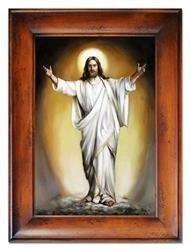 """Obraz """"Chrystus"""" ręcznie malowany 87x117cm"""