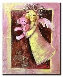 Obraz - Dziecięce - olejny, ręcznie malowany 50x70cm