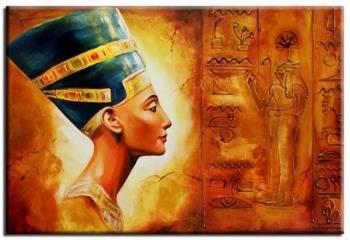 Obraz - Egipt - olejny, ręcznie malowany 60x90cm