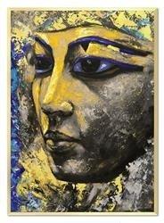 """Obraz """"Egipt"""" ręcznie malowany 53x73cm"""
