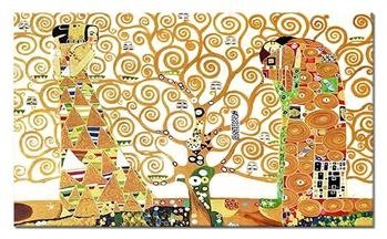 """Obraz """"Gustaw Klimt"""" ręcznie malowany 195x115cm"""