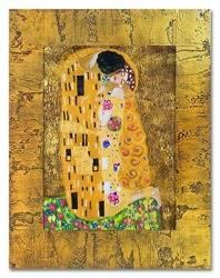 """Obraz """"Gustaw Klimt"""" ręcznie malowany 48x58cm"""