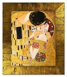 """Obraz """"Gustaw Klimt"""" ręcznie malowany 53x64cm"""
