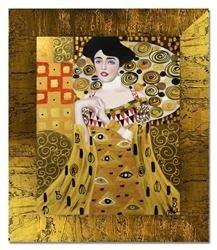 """Obraz """"Gustaw Klimt"""" ręcznie malowany 54x64cm"""