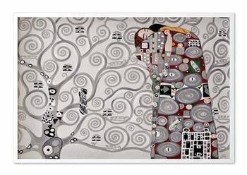 """Obraz """"Gustaw Klimt"""" ręcznie malowany 63x93cm"""