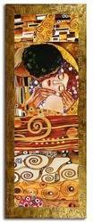 """Obraz """"Gustaw Klimt"""" ręcznie malowany 68x168cm"""