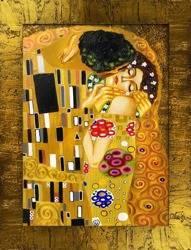 """Obraz """"Gustaw Klimt"""" ręcznie malowany 68x88cm"""
