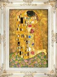 """Obraz """"Gustaw Klimt"""" ręcznie malowany 87x117cm"""