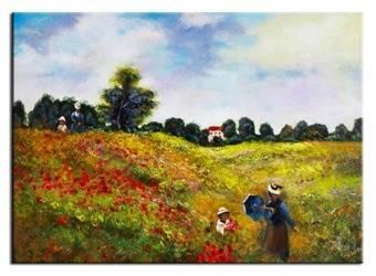 """Obraz """"Impresjonisci"""" ręcznie malowany 50x70cm"""