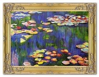 """Obraz """"Impresjonisci"""" ręcznie malowany 64x84cm"""