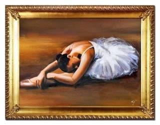 Obraz - Inne - olejny, ręcznie malowany 64x84cm