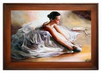 Obraz - Inne - olejny, ręcznie malowany 87x117cm