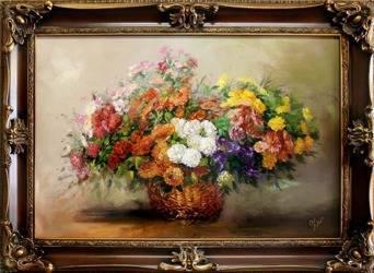 """Obraz """"Inne"""" ręcznie malowany 85x115cm"""