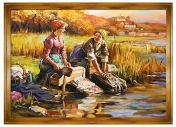 Obraz - Inni - olejny, ręcznie malowany 200x140cm