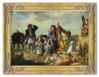 Obraz - Inni - olejny, ręcznie malowany 64x84cm