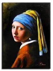 """Obraz """"Inni"""" ręcznie malowany 30x40cm"""