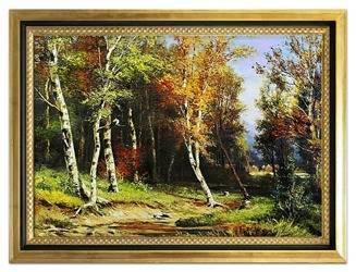 Obraz - Iwan Iwanowicz Szyszkin  - olejny, ręcznie malowany 75x105cm