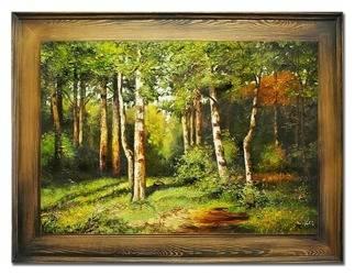 """Obraz """"Iwan Iwanowicz Szyszkin """" ręcznie malowany 72x92cm"""