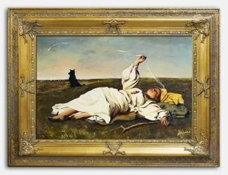 Obraz - Józef Chełmoński - olejny, ręcznie malowany 90x120cm