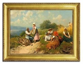 Obraz - Kopie mistrzów malarstwa 68x88cm