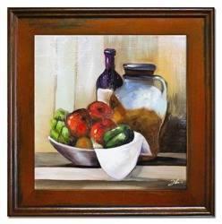 """Obraz """"Kuchenne"""" ręcznie malowany 40x40cm"""
