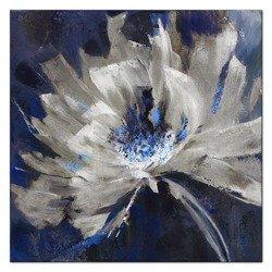 """Obraz """"Kwiaty nowoczesne"""" - olejny, ręcznie malowany 60x60cm"""