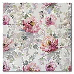 """Obraz """"Kwiaty nowoczesne"""" ręcznie malowany 60x60"""