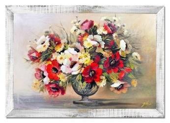 """Obraz """"Maki"""" ręcznie malowany 75x105cm"""